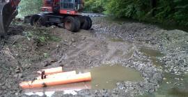 Pregatirea terenului pentru constructia unei ferme
