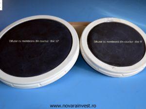 Difuzor disc membrana cauciuc