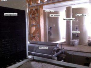 Sistem de recirculare si filtrare a apei