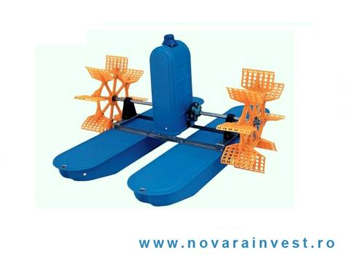 Aerator apa cu doua pedale