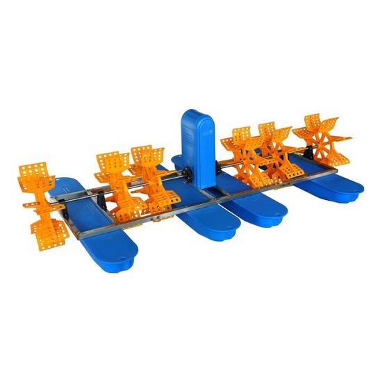 Aerator apa pentru pisciultura cu 6 pedale