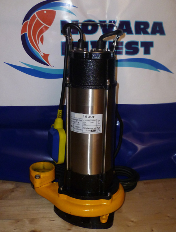 Pompa submersibila otelinoxidabil 1500F